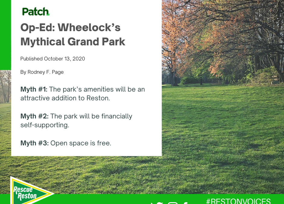 OpEd: Wheelock's Mythical Grand Park
